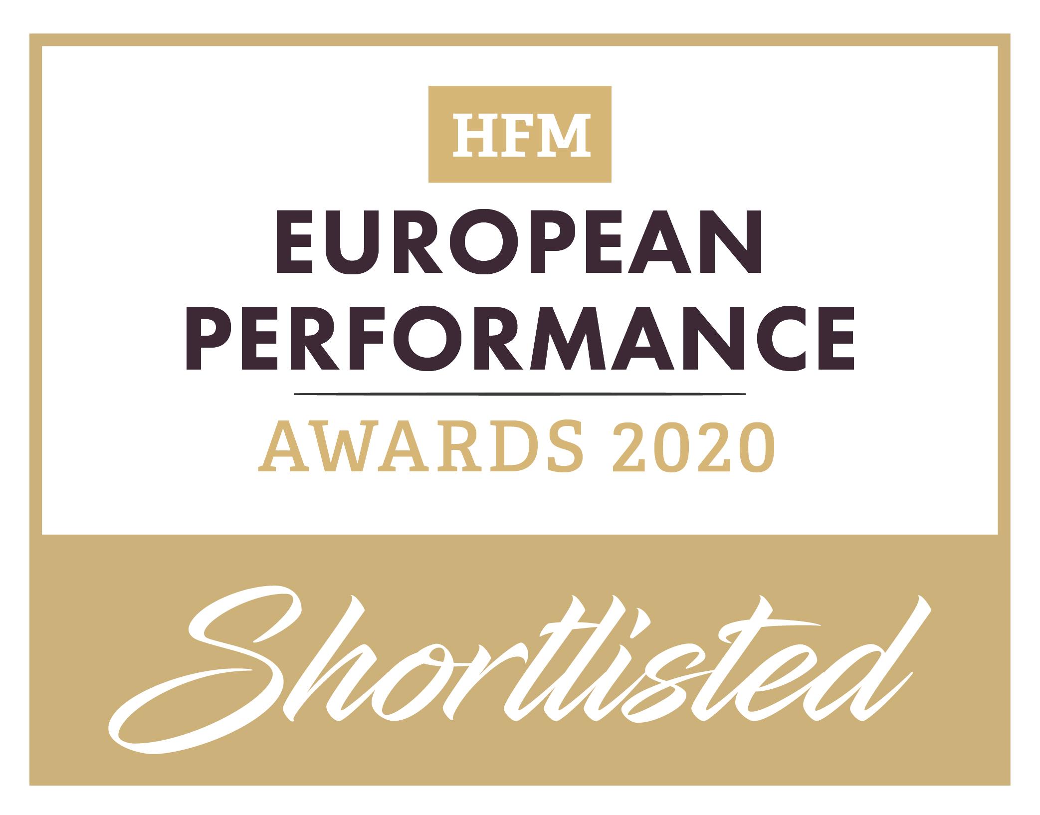 HFM EU Performance Awards 2020__Shortlisted