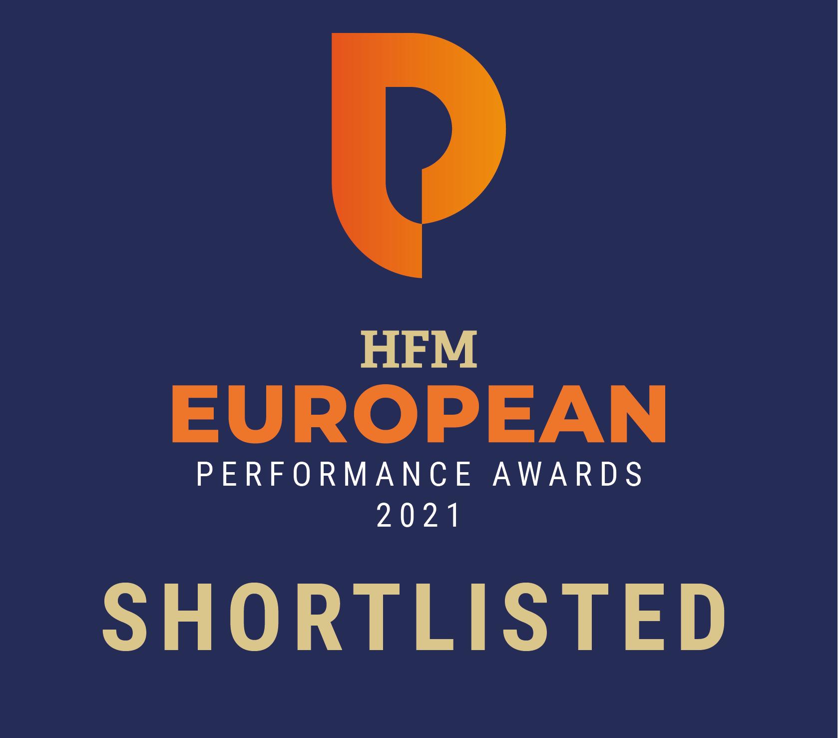 HFM EU Performance Awards Shortlisted Logo